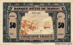 50 Francs MAROC  1944 P.29 TTB
