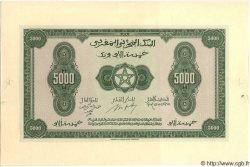 5000 Francs MAROC  1943 P.32 NEUF