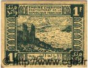 1 Franc MAROC  1944 P.42 SPL