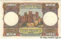 100 Francs MAROC  1951 P.45 pr.NEUF