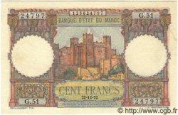 100 Francs MAROC  1952 P.45 SUP+