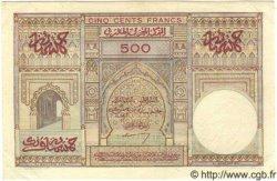 500 Francs MAROC  1950 P.46 SUP