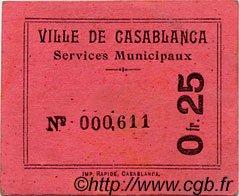 25 Centimes MAROC  1919 MS.N08 SPL