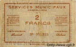 2 Francs MAROC Casablanca 1919 MS.N14 TB