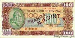 100 Franga ALBANIE  1945 P.17 pr.NEUF