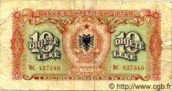 10 Leke ALBANIE  1949 P.24 B à TB