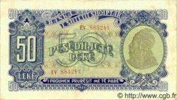 50 Leke ALBANIE  1949 P.25 TTB+