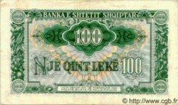 100 Leke ALBANIE  1949 P.26 TTB+