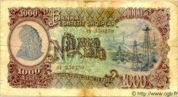 1000 Leke ALBANIE  1949 P.27A TB