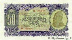 50 Leke ALBANIE  1957 P.29a NEUF