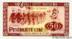 50 Leke ALBANIE  1976 P.45s NEUF