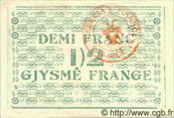 1/2 Franc ALBANIE  1917 PS.110 SPL