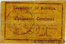 50 Centimes ALBANIE  1920 PS.153 B