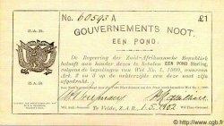 1 Pond AFRIQUE DU SUD  1902 P.A65 TTB+ à SUP