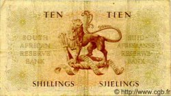 10 Shillings AFRIQUE DU SUD  1956 P.077b TTB