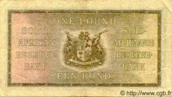 1 Pound AFRIQUE DU SUD  1941 P.084e TTB