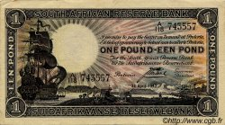 1 Pound AFRIQUE DU SUD  1942 P.082b TTB