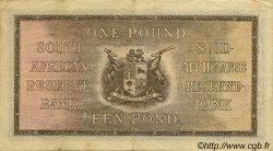 1 Pound AFRIQUE DU SUD  1942 P.082b