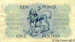 1 Pound AFRIQUE DU SUD  1951 P.083a TTB+