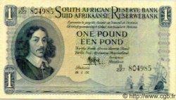 1 Pound AFRIQUE DU SUD  1956 P.083b SUP