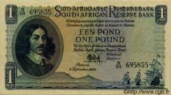 1 Pound AFRIQUE DU SUD  1950 P.084a TTB+