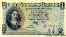 1 Pound AFRIQUE DU SUD  1951 P.092c SUP