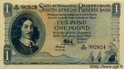 1 Pound AFRIQUE DU SUD  1958 P.084c pr.SUP