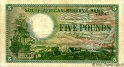 5 Pounds AFRIQUE DU SUD  1921 P.085 TB