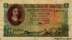 5 Pounds AFRIQUE DU SUD  1959 P.091b TTB+