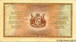 10 Pounds AFRIQUE DU SUD  1943 P.093 TTB