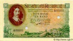 10 Rand AFRIQUE DU SUD  1962 P.107bs NEUF