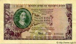 20 Rand AFRIQUE DU SUD  1961 P.108a pr.TTB