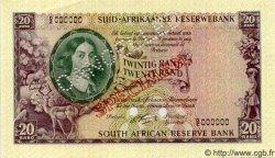 20 Rand AFRIQUE DU SUD  1962 P.108As NEUF