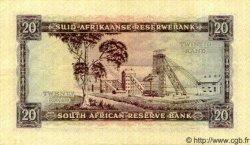 20 Rand AFRIQUE DU SUD  1962 P.108A SUP