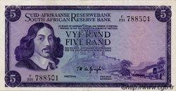 5 Rand AFRIQUE DU SUD  1974 P.112b SUP