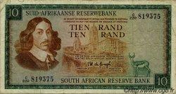 10 Rand AFRIQUE DU SUD  1974 P.114b TB
