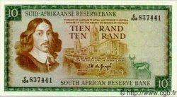 10 Rand AFRIQUE DU SUD  1974 P.114b SPL