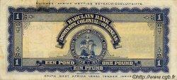 1 Pound AFRIQUE DU SUD OUEST  1951 P.002d pr.TTB