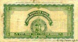 5 Pounds AFRIQUE DU SUD OUEST  1942 P.003a TB+