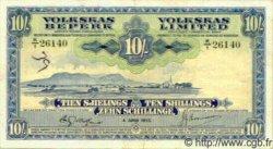 10 Shillings AFRIQUE DU SUD OUEST  1952 P.13a TTB+