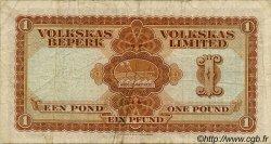 1 Pound AFRIQUE DU SUD OUEST  1952 P.014a TB