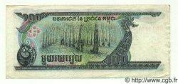 100 Riels CAMBODGE  1990 P.36 TTB+