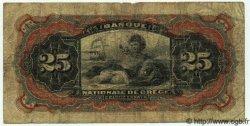 25 Drachmes GRÈCE  1912 P.052 B