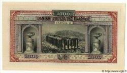 1000 Drachmes GRÈCE  1922 P.069 NEUF