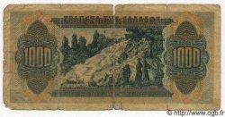 1000 Drachmes GRÈCE  1941 P.117b B