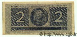 2 Drachmes GRÈCE  1941 P.318 SUP+