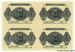 20 Drachmes GRÈCE  1944 P.323 NEUF
