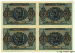 20 Drachmes GRÈCE  1944 P.323 pr.NEUF