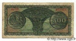 500 Drachmes GRÈCE  1950 P.325a TTB