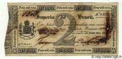 2 Mil Reis BRÉSIL  1833 P.A152b pr.TTB